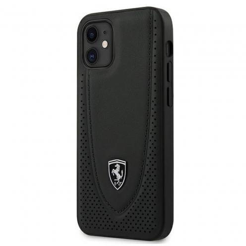 CarcasaFerrari® FEOGOHCP12SBK iPhone 12 MINI Noir