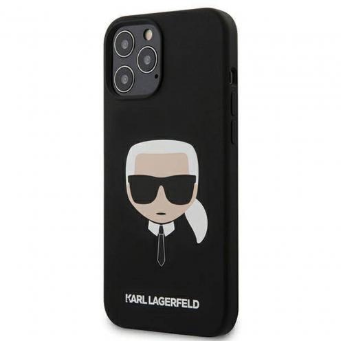Carcasa Karl Lagerfeld® KLHCP12LSLKHBK iPhone 12 PRO MAX Noir