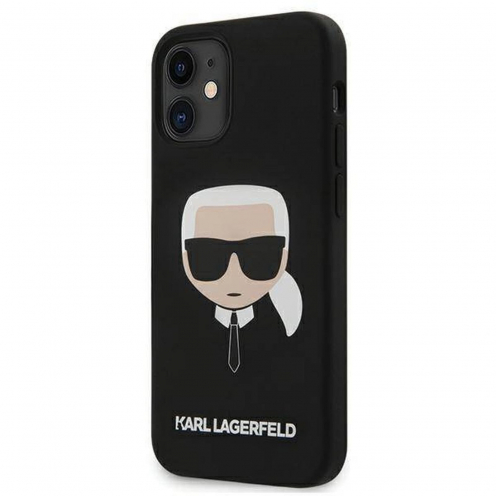 Carcasa Karl Lagerfeld® KLHCP12SSLKHBK iPhone 12 MINI Noir