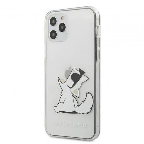 Carcasa Karl Lagerfeld® KLHCP12LCFNRC iPhone 12 PRO MAX transparent