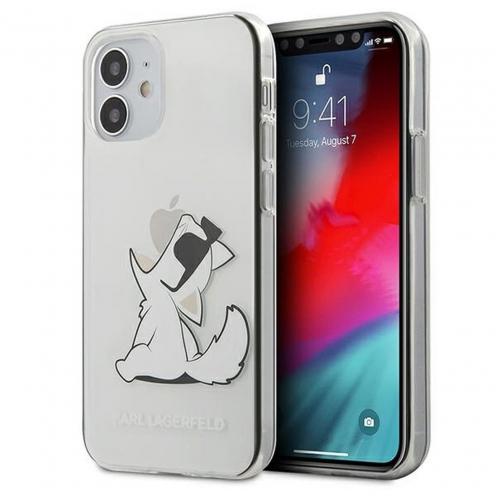Carcasa Karl Lagerfeld® KLHCP12SCFNRC iPhone 12 MINI transparent