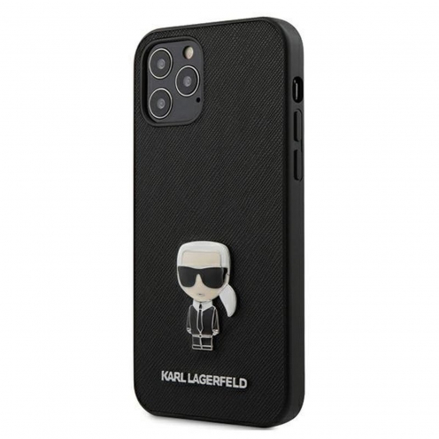 Carcasa Karl Lagerfeld® KLHCP12LIKMSBK iPhone 12 PRO MAX Noir