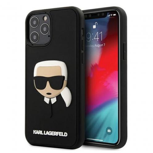 Carcasa Karl Lagerfeld® KLHCP12MKH3DBK iPhone 12 / 12 PRO Noir