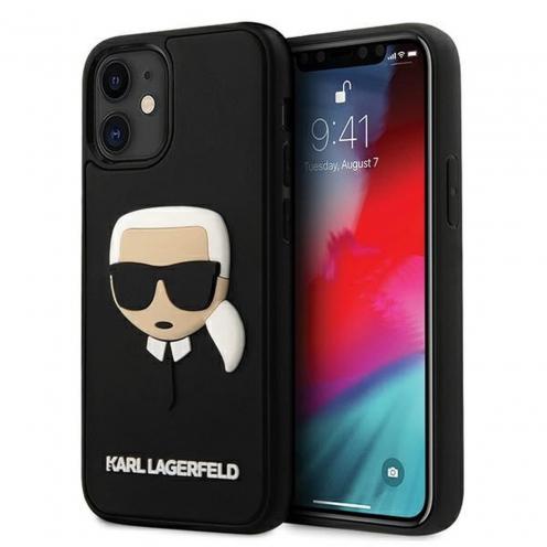 Carcasa Karl Lagerfeld® KLHCP12SKH3DBK iPhone 12 MINI Noir