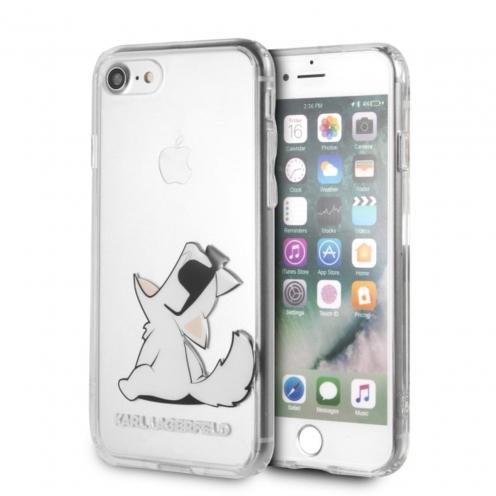 Carcasa Karl Lagerfeld® KLHCI8CFNRC iPhone 7/8 transparent
