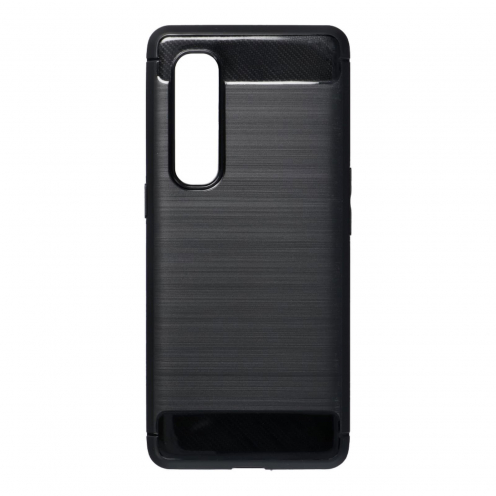 Forcell CARBON Carcasa Para Oppo Find X2 Pro Noir