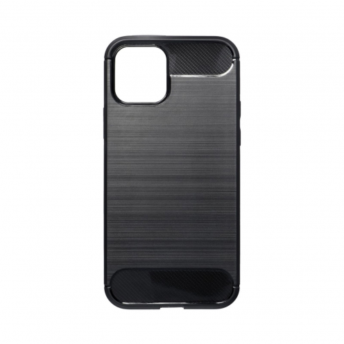 Forcell CARBON Carcasa Para iPhone 12 / 12 PRO Noir