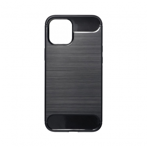 Forcell CARBON Carcasa Para iPhone 12 PRO MAX Noir
