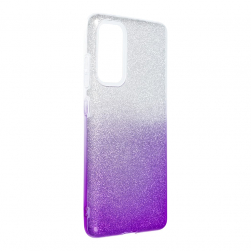 Forcell SHINING Carcasa Para Samsung Galaxy S20 FE / S20 FE 5G clear/violet