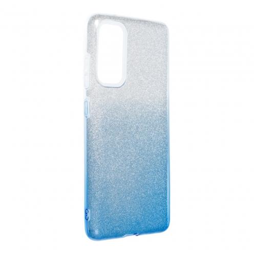 Forcell SHINING Carcasa Para Samsung Galaxy S20 FE / S20 FE 5G clear/Bleu