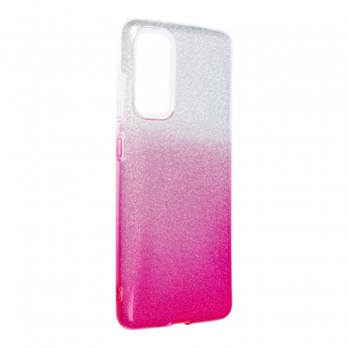 Forcell SHINING Carcasa Para Samsung Galaxy S20 FE / S20 FE 5G clear/Rose