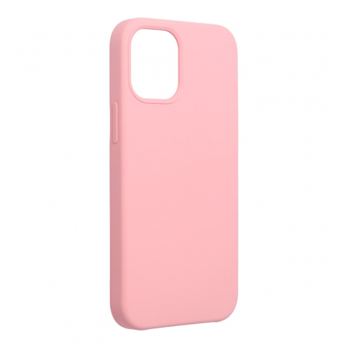 Forcell Silicone Carcasa Para iPhone 12 MINI Rose