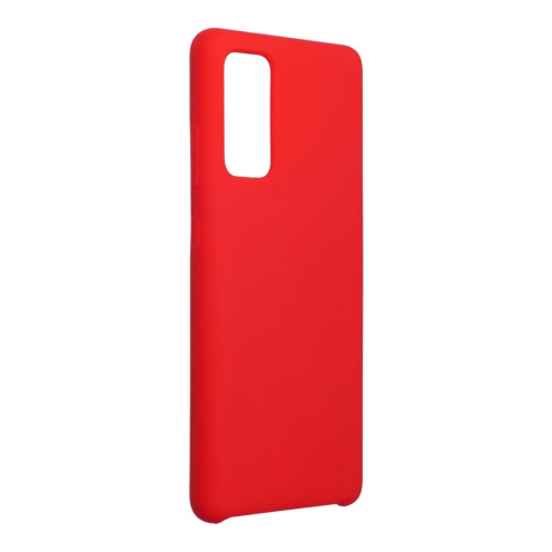 Forcell Silicone Carcasa Para Samsung Galaxy S20 FE / S20 FE 5G Rouge