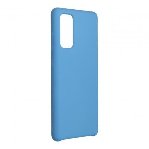 Forcell Silicone Carcasa Para Samsung Galaxy S20 FE / S20 FE 5G Bleu Marine