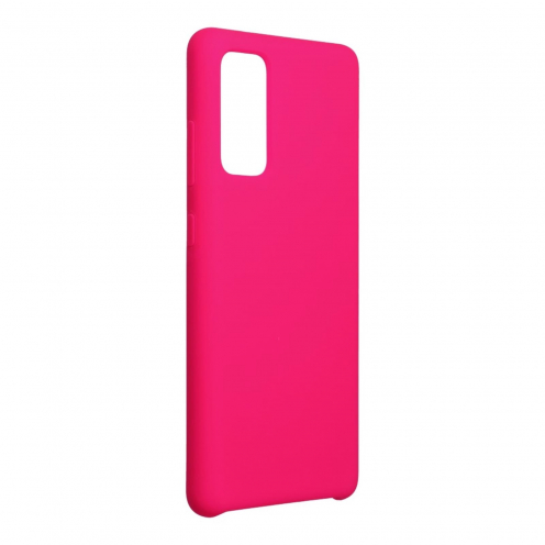 Forcell Silicone Carcasa Para Samsung Galaxy S20 FE / S20 FE 5G hot Rose