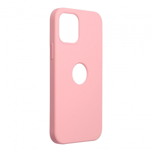 Forcell Silicone Carcasa Para iPhone 12 / 12 PRO Rose (Avec Trou)