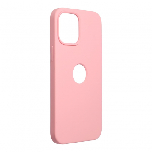 Forcell Silicone Carcasa Para iPhone 12 PRO MAX Rose (Avec Trou)