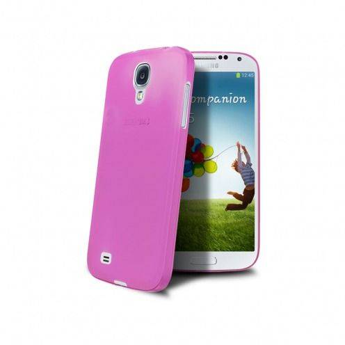 Funda Ultra fino 0.3mm Frost Samsung Galaxy S4 roja