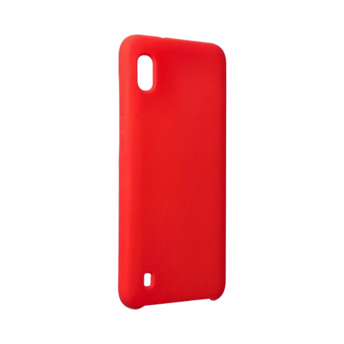 Forcell Silicone Carcasa Para Samsung Galaxy A10 Rouge