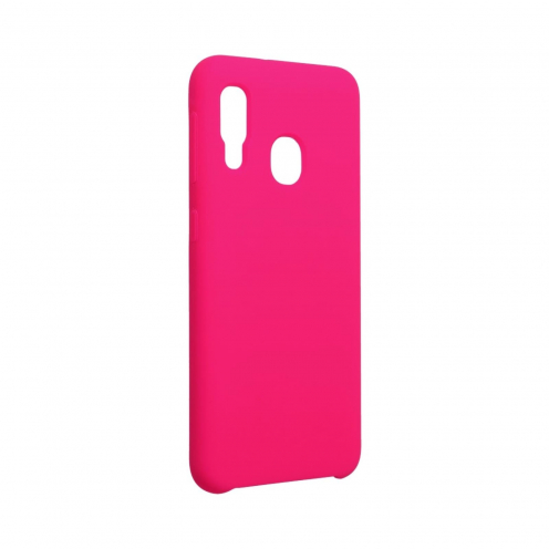 Forcell Silicone Carcasa Para Samsung Galaxy A20E hot Rose