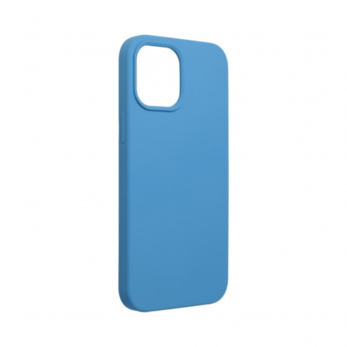 Forcell Silicone Carcasa Para iPhone 12 PRO MAX Bleu Marine