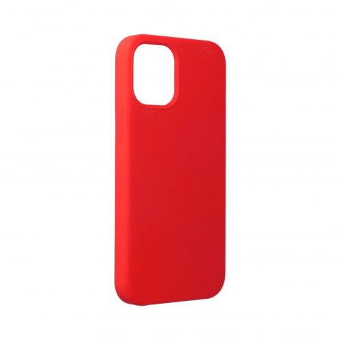 Forcell Silicone Carcasa Para iPhone 12 MINI Rouge