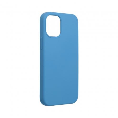 Forcell Silicone Carcasa Para iPhone 12 MINI Bleu Marine