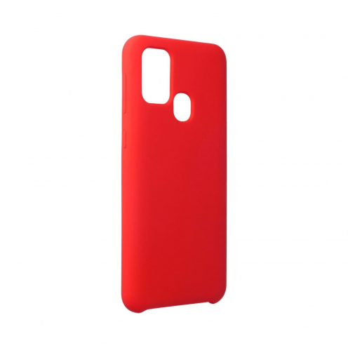 Forcell Silicone Carcasa Para Samsung Galaxy M31 Rouge