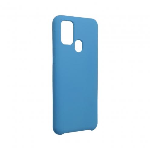 Forcell Silicone Carcasa Para Samsung Galaxy M31 Bleu Marine