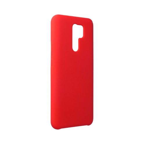 Forcell Silicone Carcasa Para Xiaomi Redmi 9 Rouge