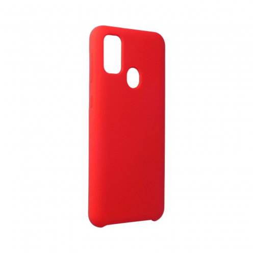 Forcell Silicone Carcasa Para Samsung Galaxy M21 Rouge