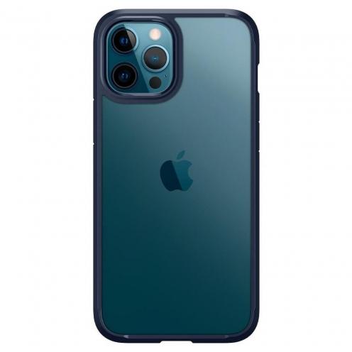 Carcasa Spigen® Ultra Hybrid Para iPhone 12 PRO MAX Bleu Marine