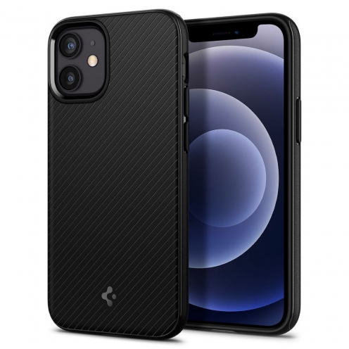 Carcasa Spigen® MAG ARMOR Para iPhone 12 MINI matte Noir