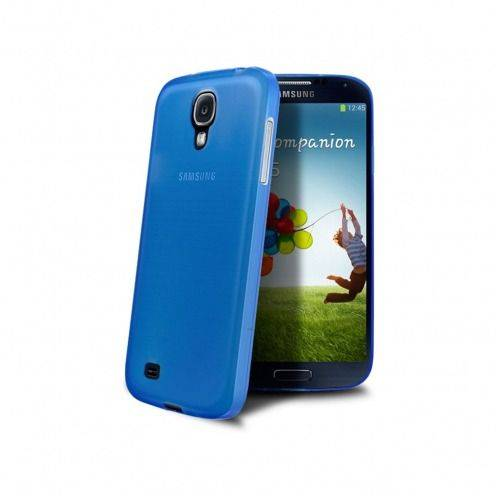 Funda Ultra fino 0.3mm Frost Samsung Galaxy S4 azul