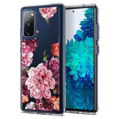 Carcasa Spigen® Cyrill Cecile Para Samsung S20 FE rose floral