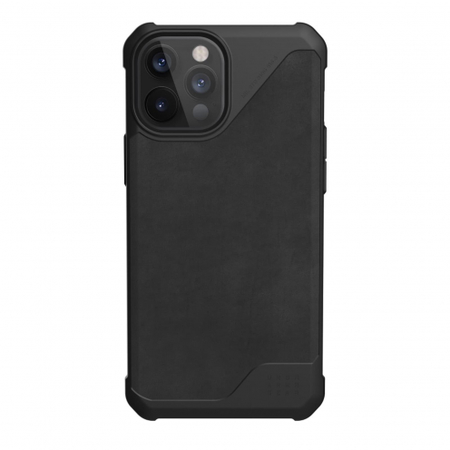 Carcasa Antichoc Urban Armor Gear® UAG Metropolis leather Para iPhone 12 Pro Max Noir