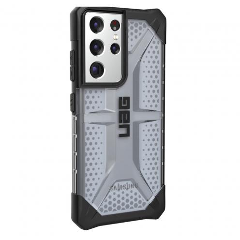 Carcasa Antichoc Urban Armor Gear® UAG Plasma Para Samsung S21 ULTRA Noir transparent