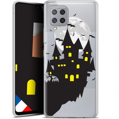 "Carcasa Gel Extra Fina Samsung Galaxy A42 5G (6.6"") Halloween Castle Dream"