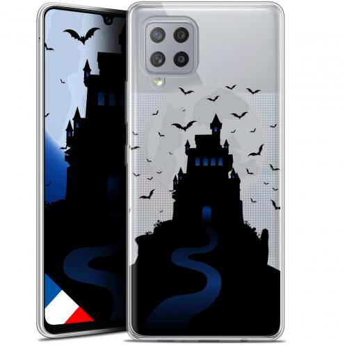"Carcasa Gel Extra Fina Samsung Galaxy A42 5G (6.6"") Halloween Castle Nightmare"
