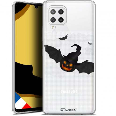 "Carcasa Gel Extra Fina Samsung Galaxy A42 5G (6.6"") Halloween Chauve Citrouille"