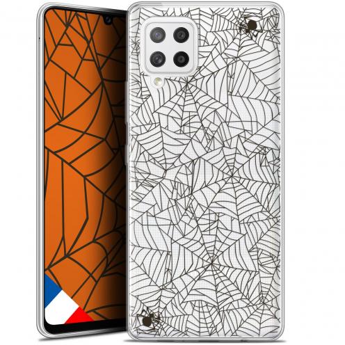 "Carcasa Gel Extra Fina Samsung Galaxy A42 5G (6.6"") Halloween Spooky Spider"