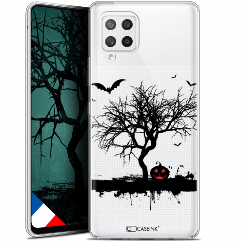 "Carcasa Gel Extra Fina Samsung Galaxy A42 5G (6.6"") Halloween Devil's Tree"