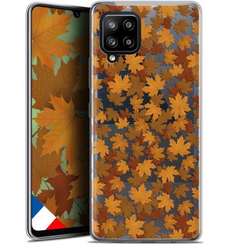 "Carcasa Gel Extra Fina Samsung Galaxy A42 5G (6.6"") Autumn 16 Feuilles"