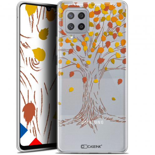 "Carcasa Gel Extra Fina Samsung Galaxy A42 5G (6.6"") Autumn 16 Tree"