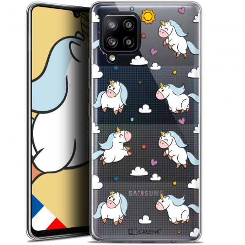 "Carcasa Gel Extra Fina Samsung Galaxy A42 5G (6.6"") Fantasia Licorne In the Sky"
