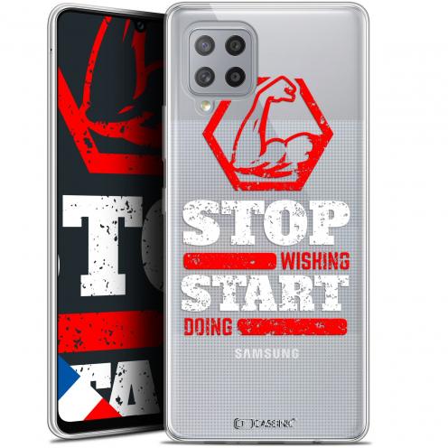 "Carcasa Gel Extra Fina Samsung Galaxy A42 5G (6.6"") Quote Start Doing"