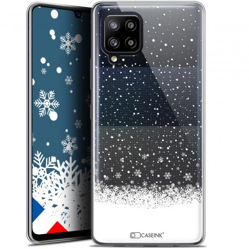 """Carcasa Gel Extra Fina Samsung Galaxy A42 5G (6.6"""") Noël 2017 Flocons de Neige"""