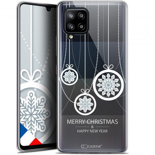 "Carcasa Gel Extra Fina Samsung Galaxy A42 5G (6.6"") Noël 2017 Christmas Balls"