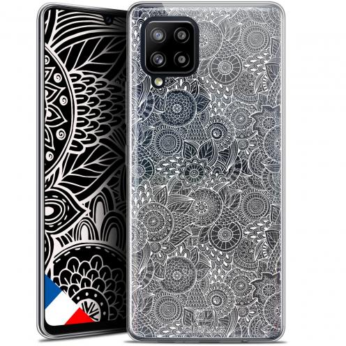 "Carcasa Gel Extra Fina Samsung Galaxy A42 5G (6.6"") Dentelle Florale Blanc"