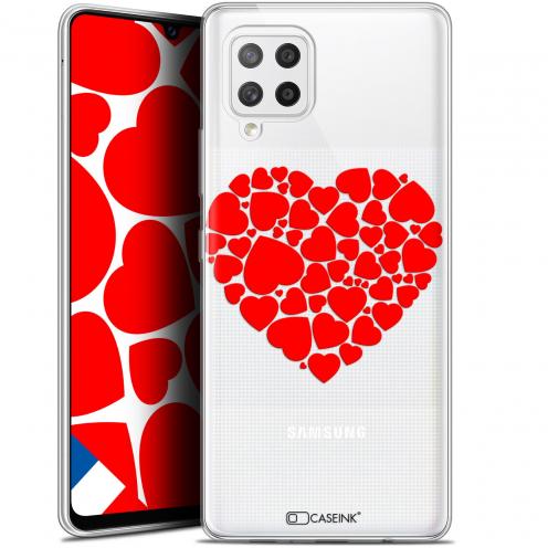 """Carcasa Gel Extra Fina Samsung Galaxy A42 5G (6.6"""") Love Coeur des Coeurs"""